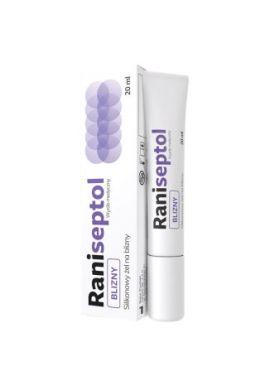 Raniseptol, zel na blizny, 20 ml