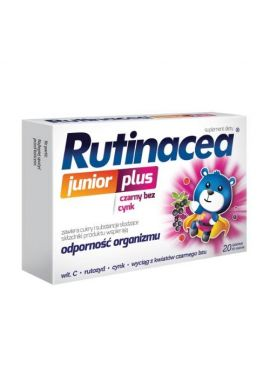 Rutinacea Junior Plus, 20 tabletek do ssania