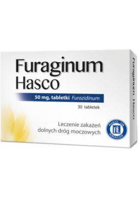 Furaginum Hasco, 30 tabletek