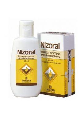 Nizoral 20 mg/ g, szampon przeciwlupiezowy, 60 ml
