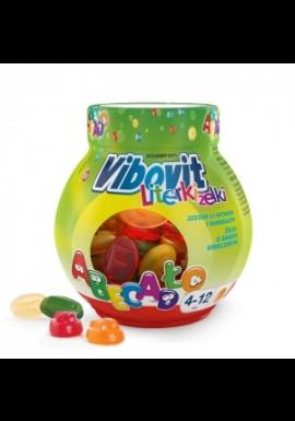 Vibovit Literki Żelki  smak owocowy z witaminami  50 sztuk