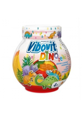Vibovit Dino żelki od  4 roku życia 50 sztuk