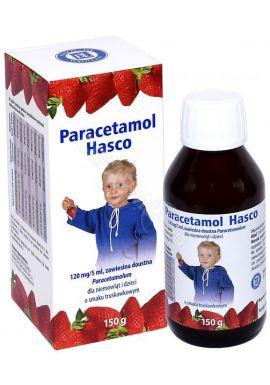 Paracetamol syrop HASCO o smaku truskawkowym 150g