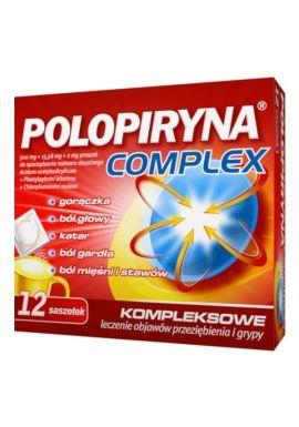 Polopiryna Complex, 12 saszetek