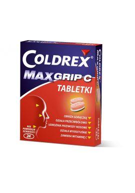 Coldrex Maxgrip C, 24 tabletki