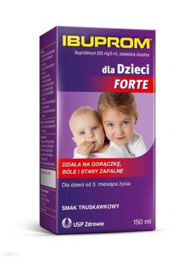 Ibuprom dla Dzieci Forte, 150 ml