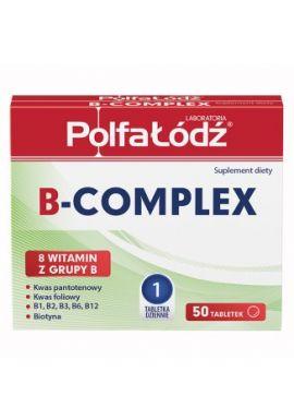 PolfaLodz B-Complex, 50 tabletek