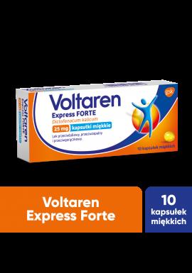 Voltaren Express Forte  10 kapsułek