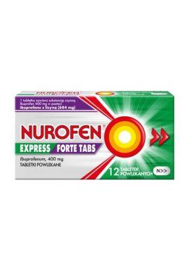 Nurofen Expres Forte Tabs 40mg 12tablek