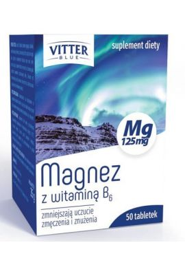 Magnez z witamina  B66 VITTER