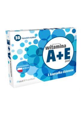 Witamina A+E 30 kapsulek AVET PHARMA