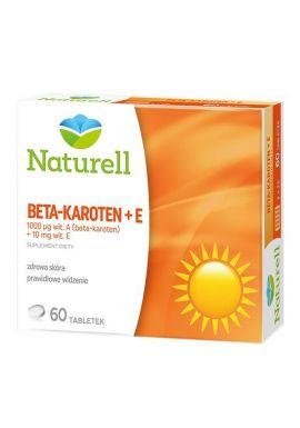 Beta-karoten + E tabl. 60 tabl. NATURELL