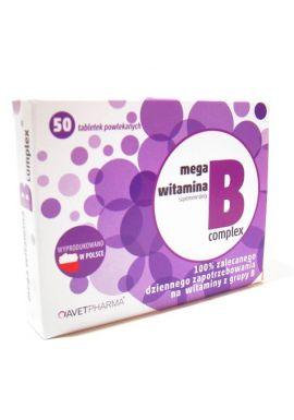 Mega Complex witamina B 50 tabletek AVET PHARMA