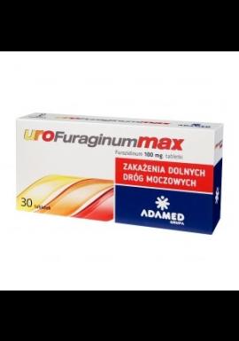 UroFuraginum Max 100mg  30 tabl.