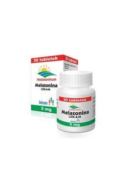 Melatonina, 5mg, 30 tabletek