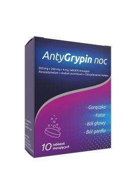 AntyGrypin noc, 10 tabletek musujacych