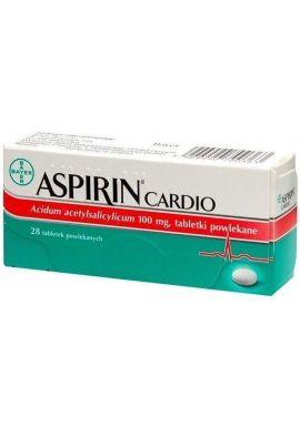 Aspirin Cardio 28 tabletek powlekanych