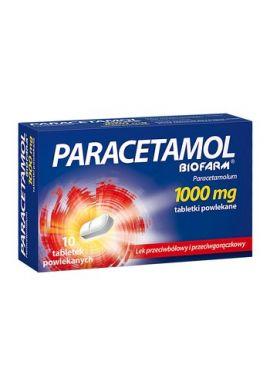 Paracetamol 1g 10 tabl BIOFARM