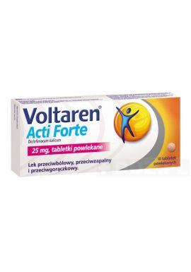 Voltaren Acti Forte 25mg, 10 tabletek powlekanych