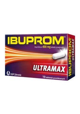 Ibuprom Ultramax 10 tabletek