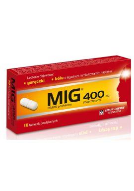 MIG 400mg, 10 tabl