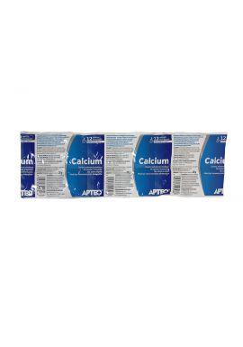 Calcium w folii APTEO 12 tabletek musujących