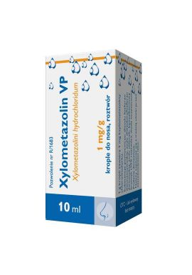 Xylometazolin VP 0.1% krople do nosa, 10ml