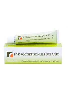 Hydrocortisonum 0.5% krem, 15g OCEANIC