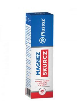 Plusssz Magnez Skurcz 20 tabletek musujacych