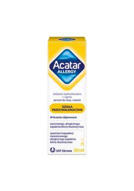 Acatar Allergy 1mg/ml, aerozol do nosa, 10 ml