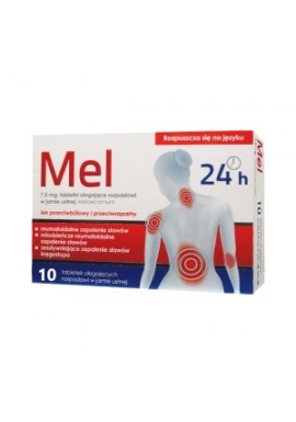 Mel 7,5 mg, 10 tabletek
