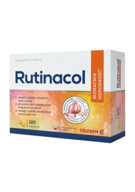 Rutinacol 90+30 tabletek