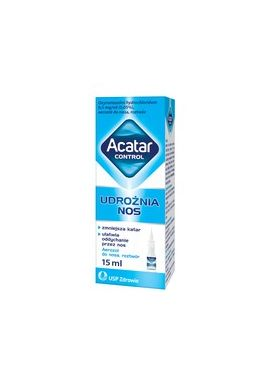 Acatar control 0,5mg/ml, aerozol do nosa, 15ml
