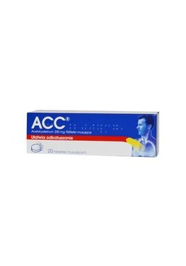 ACC 200mg 20 tabletek musujacych