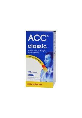 ACC classic (mini) 20mg/1ml roztwor doustny od 3 lat 200ml