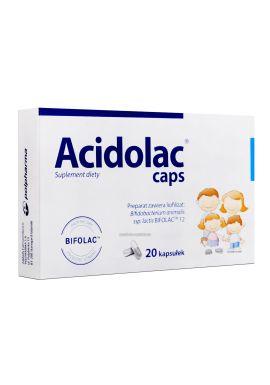 Acidolac caps, kapsulki, 20 szt.