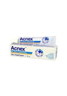 ACNEX, zel punktowy do skory tradzikowej, 15 g