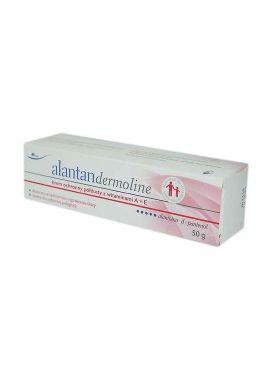 Alantan Dermoline krem ochronny poltlusty z witaminami A+E 50g