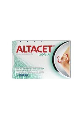 Altacet 6 tabletek