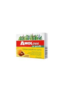 Amolowe na gardlo,z miodem i witamina C, 16 szt.
