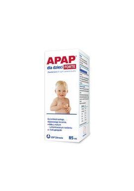 Apap dla dzieci Forte, 85 ml