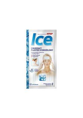 APAP ICE Plaster chklodzacy 2 plastry