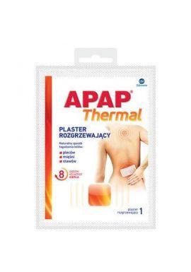 APAP THERMAL Plaster rozgrzewajacy 1 plaster