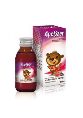 Apetizer, syrop dla dzieci powyzej 3. roku zycia 100ml malinowo-porzeczkowy