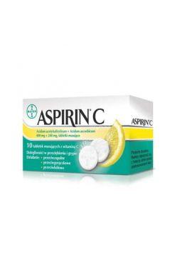 Aspirin C, 10 tabletek musujacych
