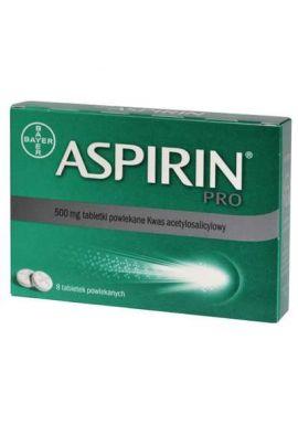 Aspirin Pro 500mg 8 tabletek