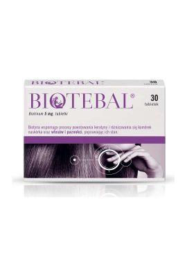 Biotebal 5mg 30 tabletek