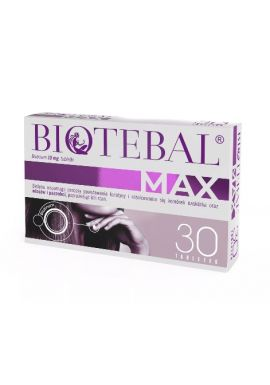 Biotebal Max, 10mg, 30 tabletek