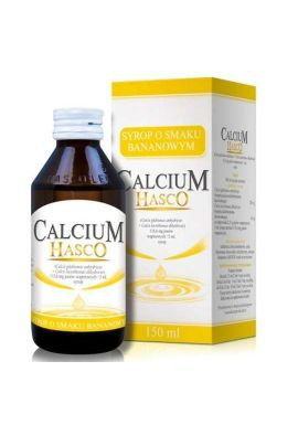 Calcium syrop bananowy 150ML HASCO