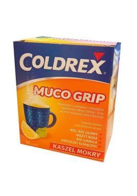 Coldrex Muco Grip 10 saszetek